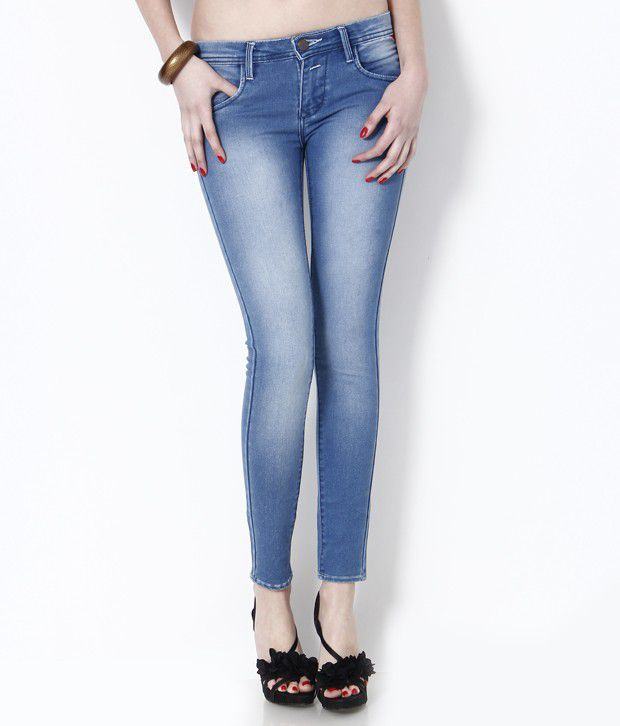 ... Ankle Length Jeans Online at Best Prices in India - Snapdeal
