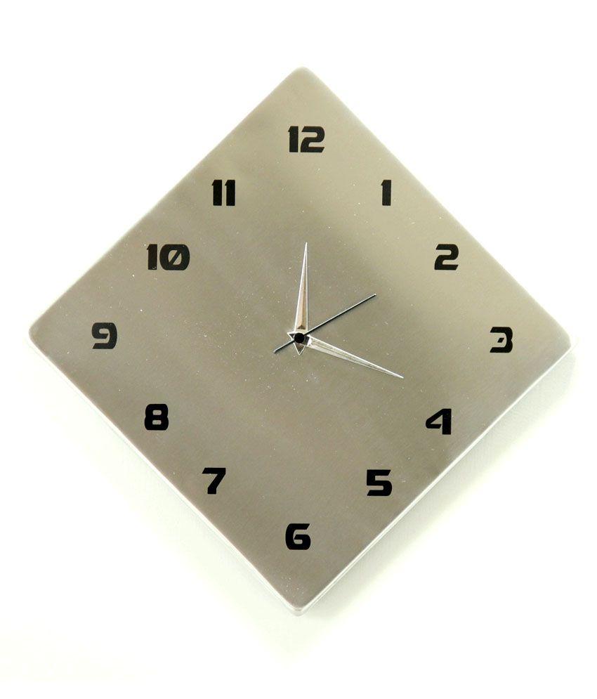 Cosmosgalaxy Kite Shape Steel Wall Clock Buy Cosmosgalaxy