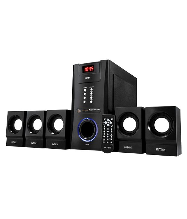 Buy Intex Mj 580 Os 5 1 Speaker System Online At Best