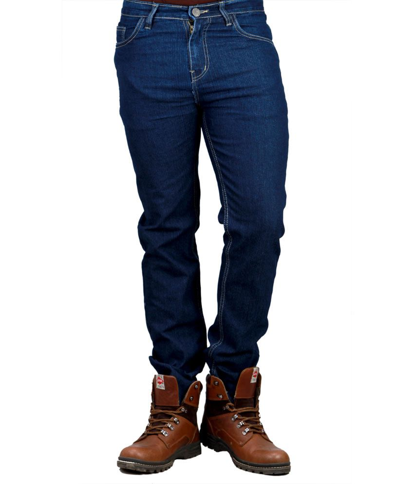 Sam & Jazz Styilsh Dark Blue   Stretchable Jeans