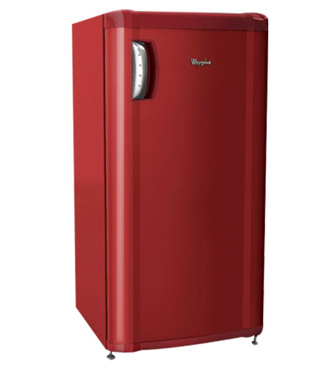 Whirlpool 180 ltr 195 mp 4w single door refrigerator red for 1 door chiller