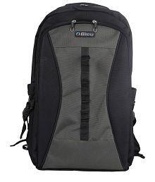 Bleu Smart Black And Gray Backpack