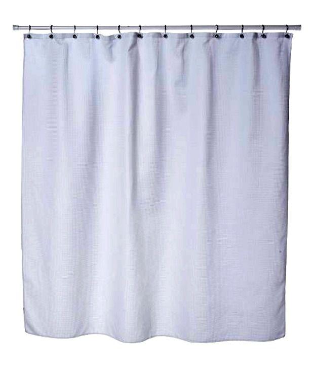 Interdesign york curtain shower white buy interdesign for Interdesign york