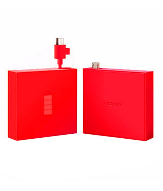 Nokia Universal Portable Usb Charger Dc 18 Red Power