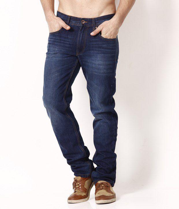 Red Tape Dashing Dark Blue Jeans