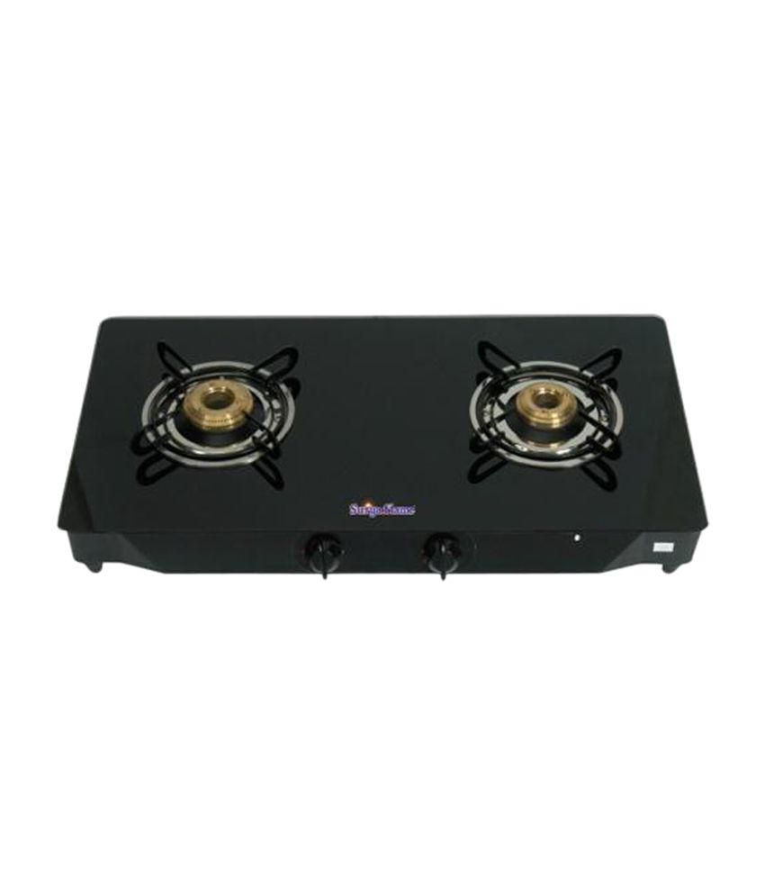 Surya-Flame-Glaze-SFBL-GL-1462B-Gas-Cooktop-(2-Burner)