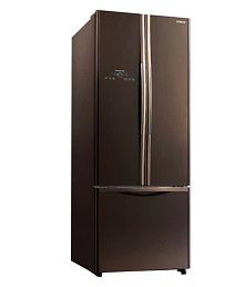 Hitachi 456 Ltr R-WB480PND2-GBW Side By Side Refrigerator Glass Brown
