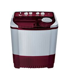 LG 8 Kg P9032R3SM Semi Automatic Top Load Washing Machine Burgundy