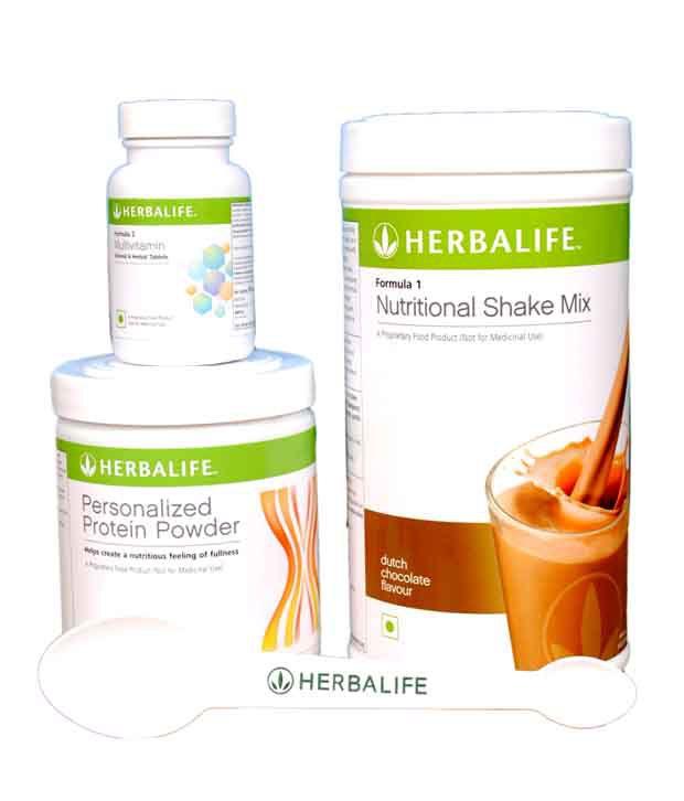 Herbalife F 1 Shake Mix Dutch Chocolate 500gm ,F 2 Multivitamin 90 Tab And F 3 Protein Powder 240gm Quick Start Protein Plus Weight Loss Program