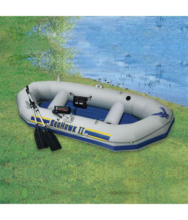 Kayak Inflatable Rubber Boat Hp Motor With Bracket Buy