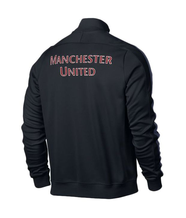 Manchester united black jacket india