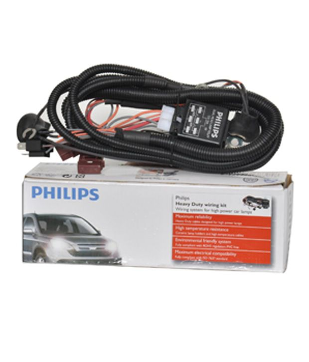 Philips Lighting Harness For H SDL305712600 1 85501 philips lighting harness for h 4 bulb (up to 130 w) buy philips phillips wiring harness at fashall.co