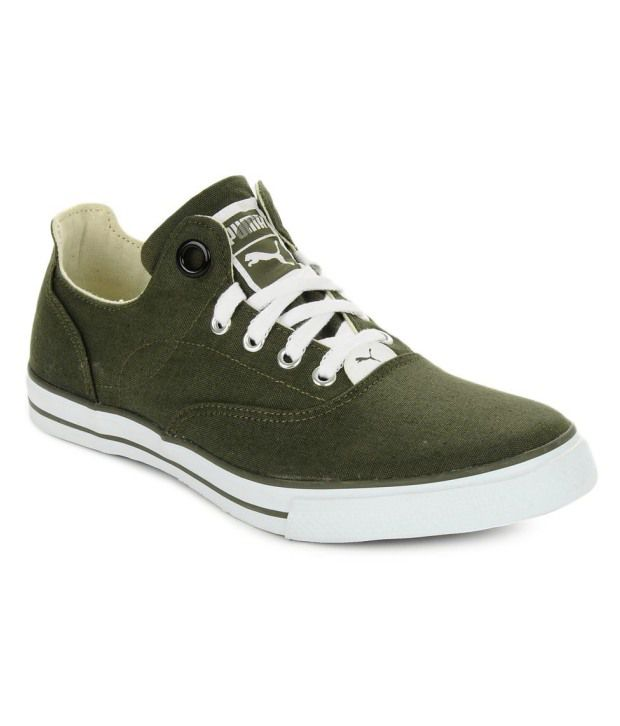 Puma Olive Green Sneakers - Buy Puma Olive Green Sneakers Online at Best  Prices in India on Snapdeal b7410ed34