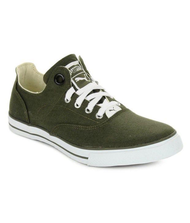 Puma Olive Green Shoes