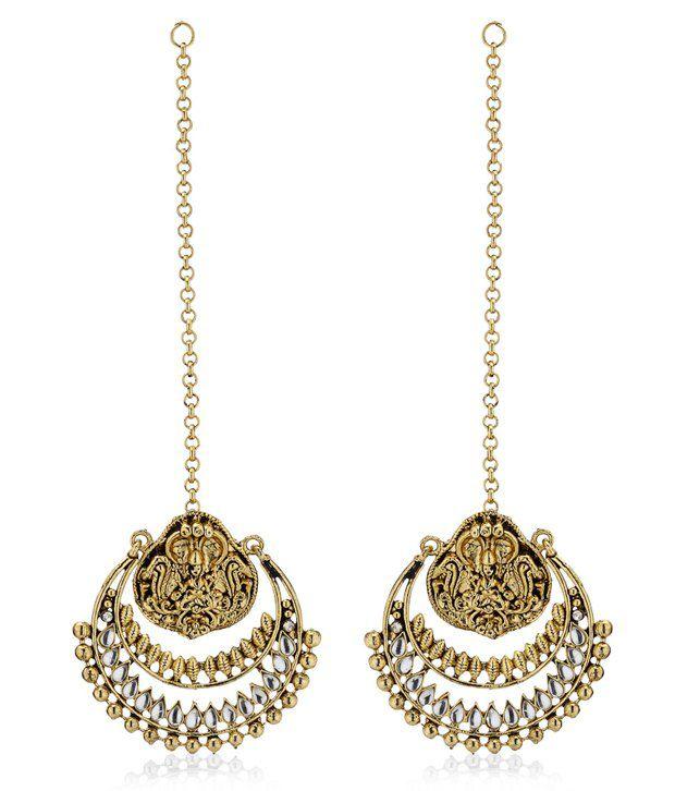 Ramleela style Earrings by Ethnic Jewels