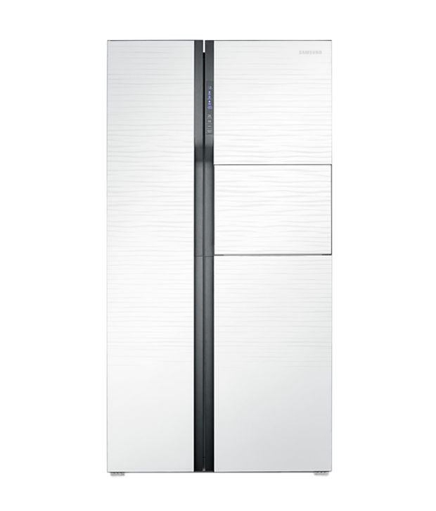 Samsung 580ltr Rs554nrua1j Side By Side Refrigerator Silver Price In