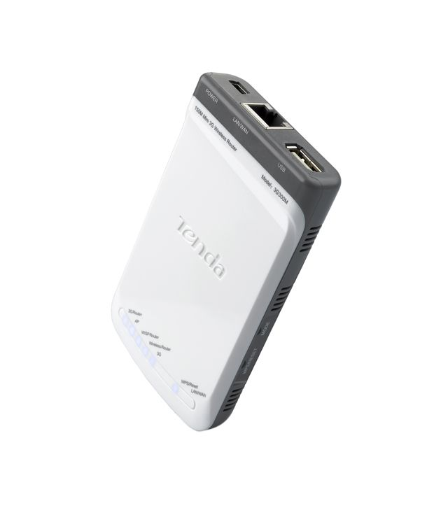 Tenda 300 Mbps pocket 3G Wireless Router (TE-3G300M)