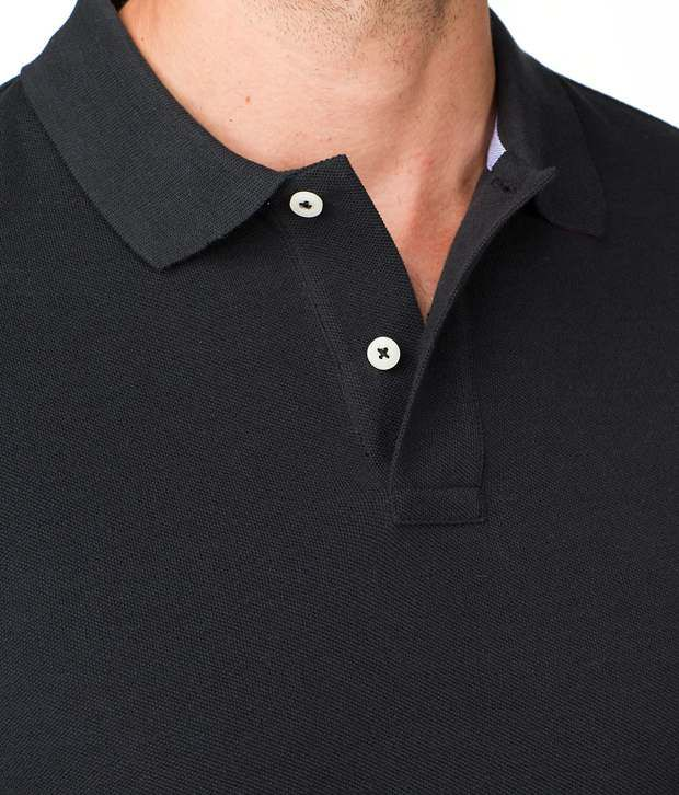 3346d3cafcae Tommy Hilfiger Black Polo T Shirt - Buy Tommy Hilfiger Black Polo T ...