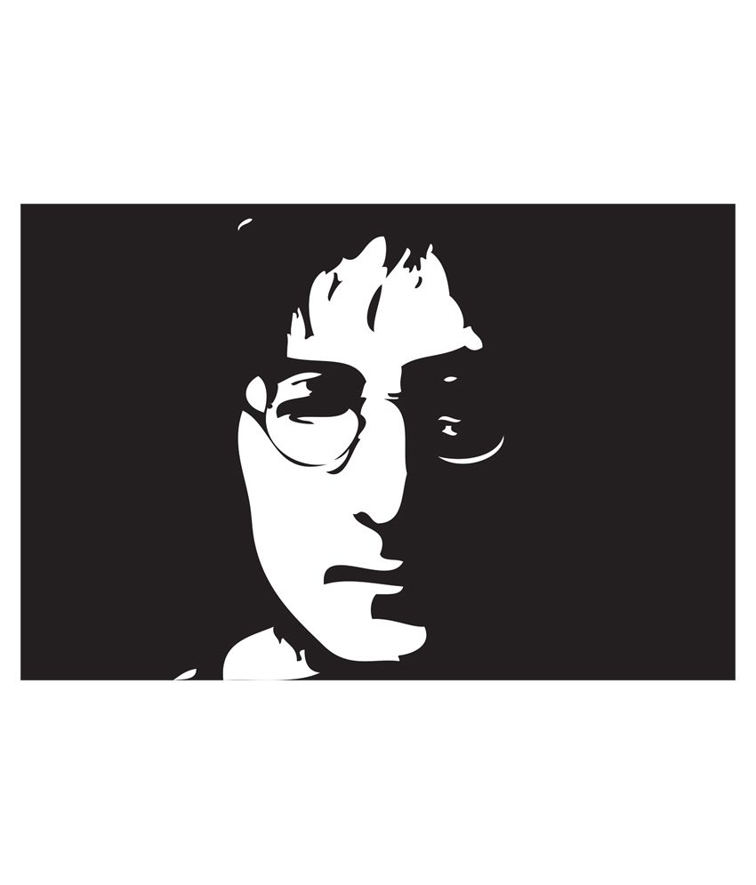 Art emporio john lennon black white art paper poster buy art emporio john lennon black white art paper poster at best price in india on snapdeal