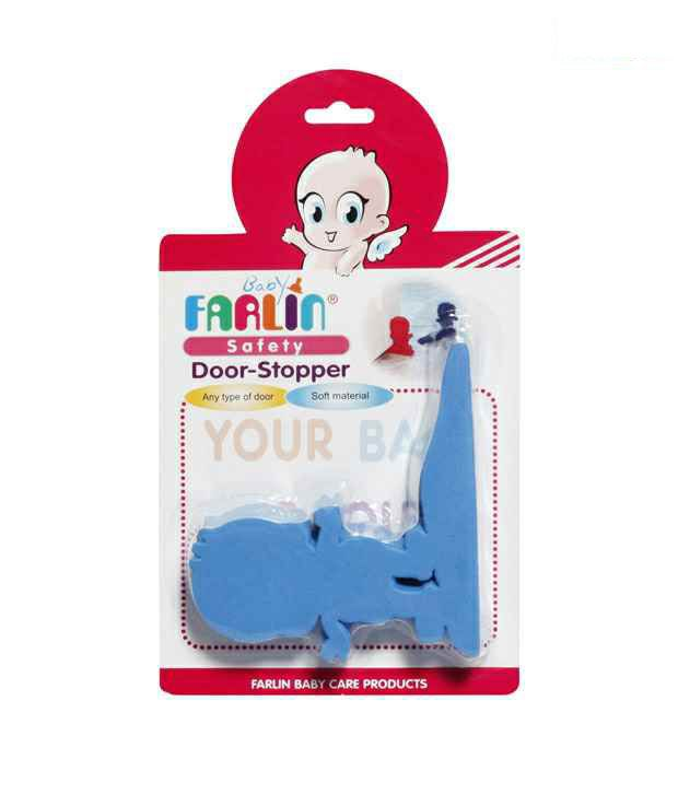FARLIN Safety Door Stopper Blue