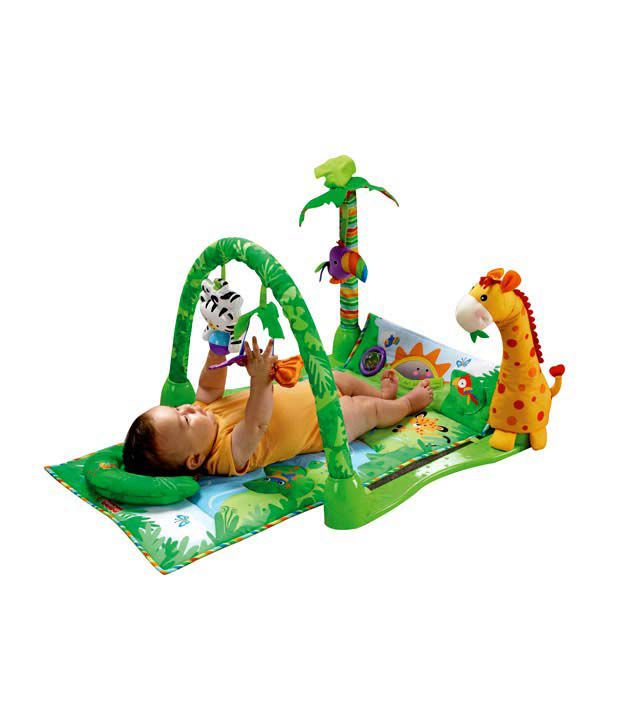 Fisher-Price 123 Musical Rain Forest Gym(0-2yrs)