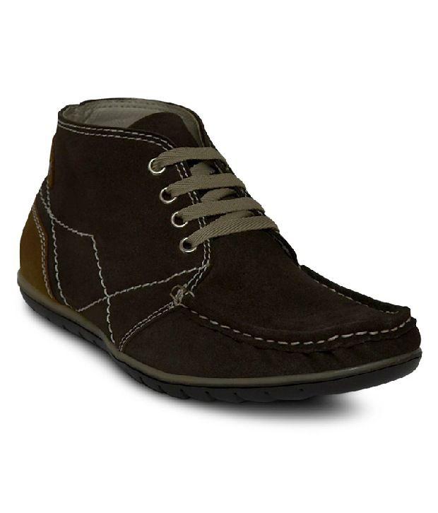 Get Glamr Brown Sneaker Shoes
