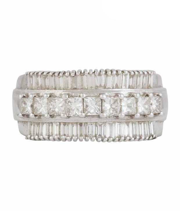 Mehrasons Diamond Crown Ring