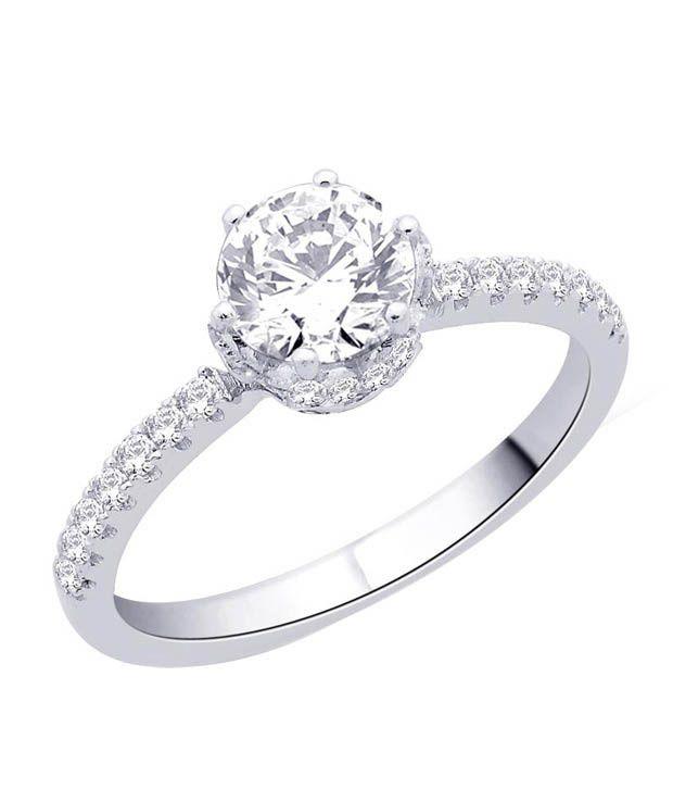 Peora Gleaming Sterling Silver Ring