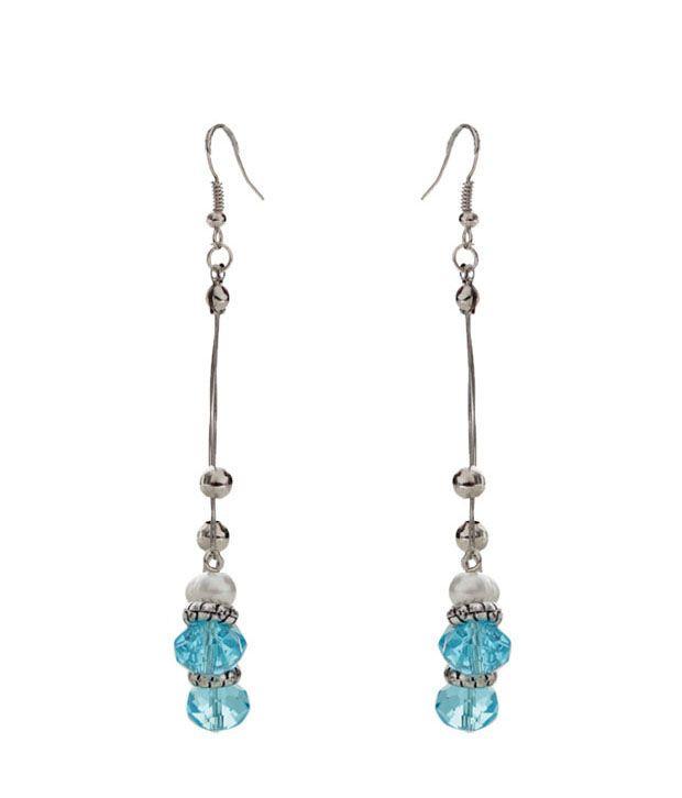 Pretty Woman Alluring Blue Trendy Earrings