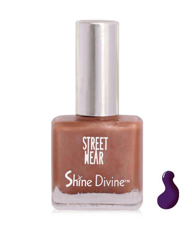 Street Wear Shine Divine Nail Enamel VIOLET DIVINE  9ML