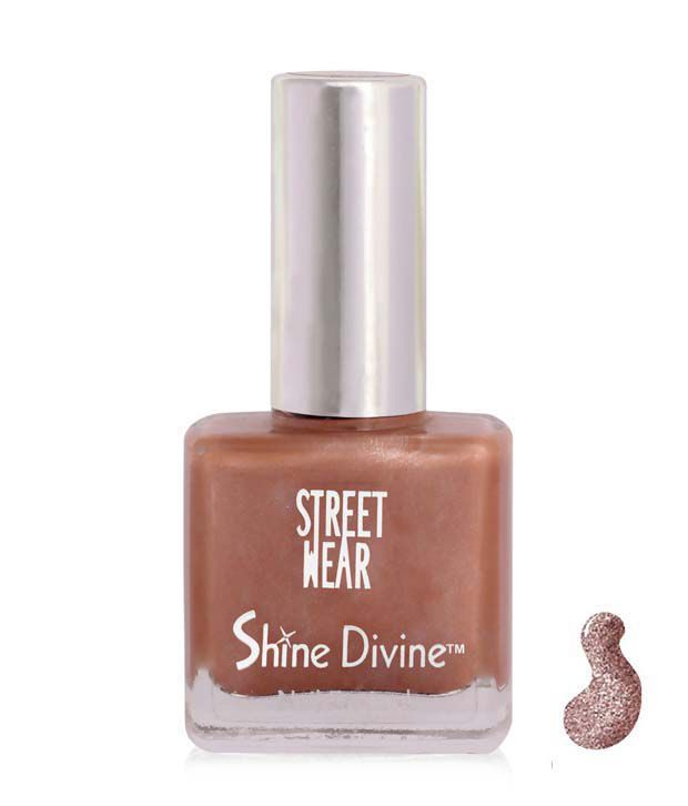 Street Wear Shine Divine Nail Enamel BROWN DIVINE-SW SHINE DIVINE-NE 9ML