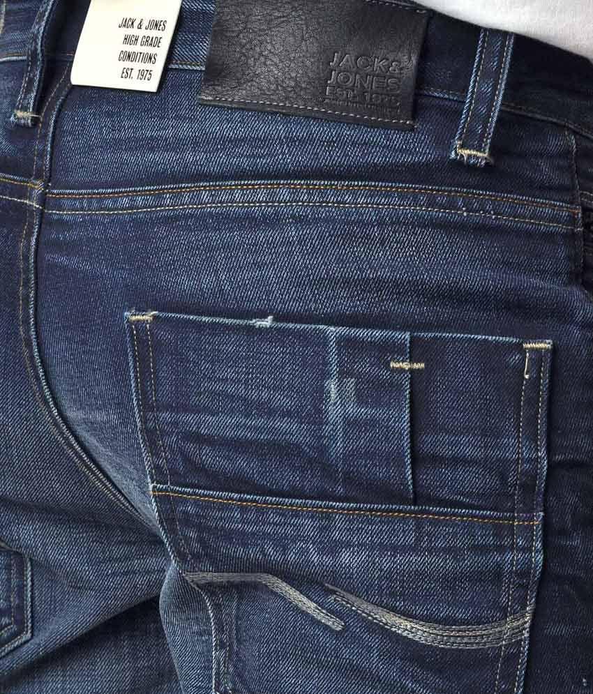 ad2bdda91a7337 Jack   Jones Clark Four Regular Fit Denim Jeans - Buy Jack   Jones ...