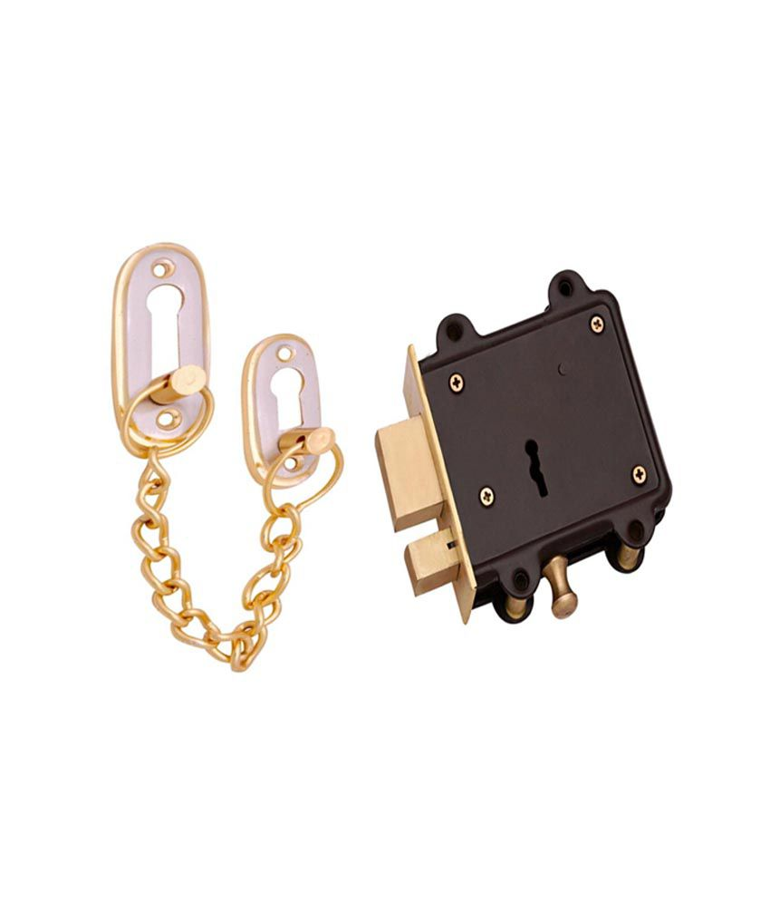 Buy Zotalic Brass Door Chain Amp Door Lock With Latch Online