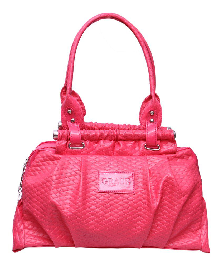 Arshia Pink Stylish Shoulder Bag