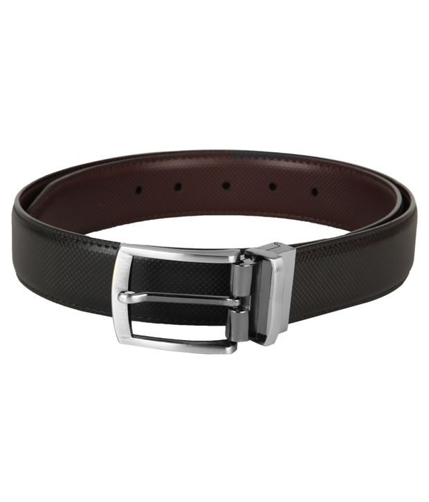 Frenzi Stylish Brown & Black Reversible Belt For Men