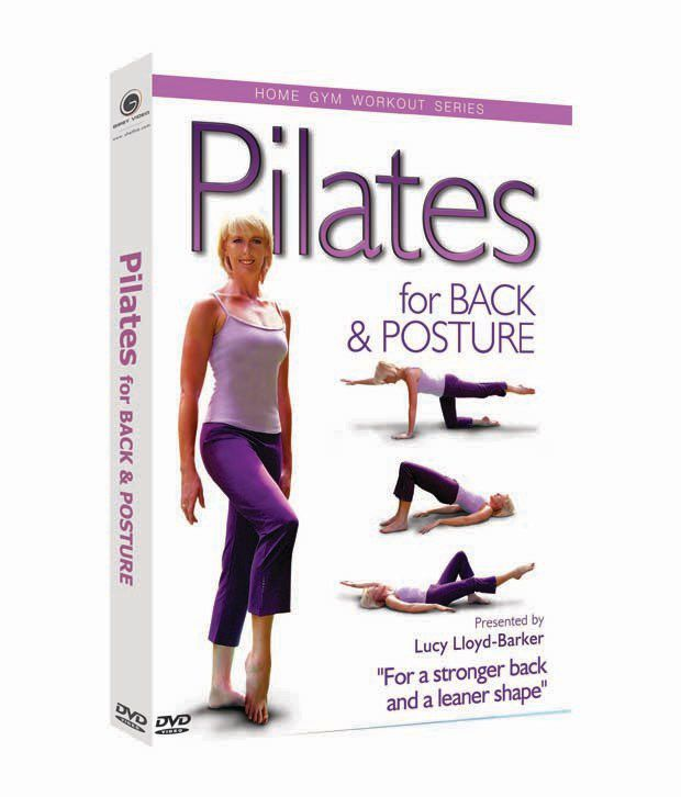 Home Gym Workout - Pilates For Back And Postures (English) [DVD]