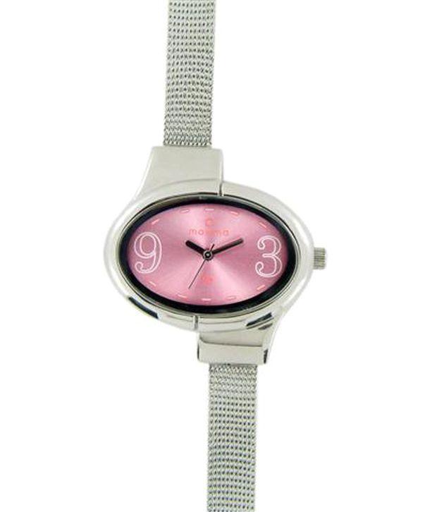 Maxima Attivo Steel 25219Cmli Women'S Watch
