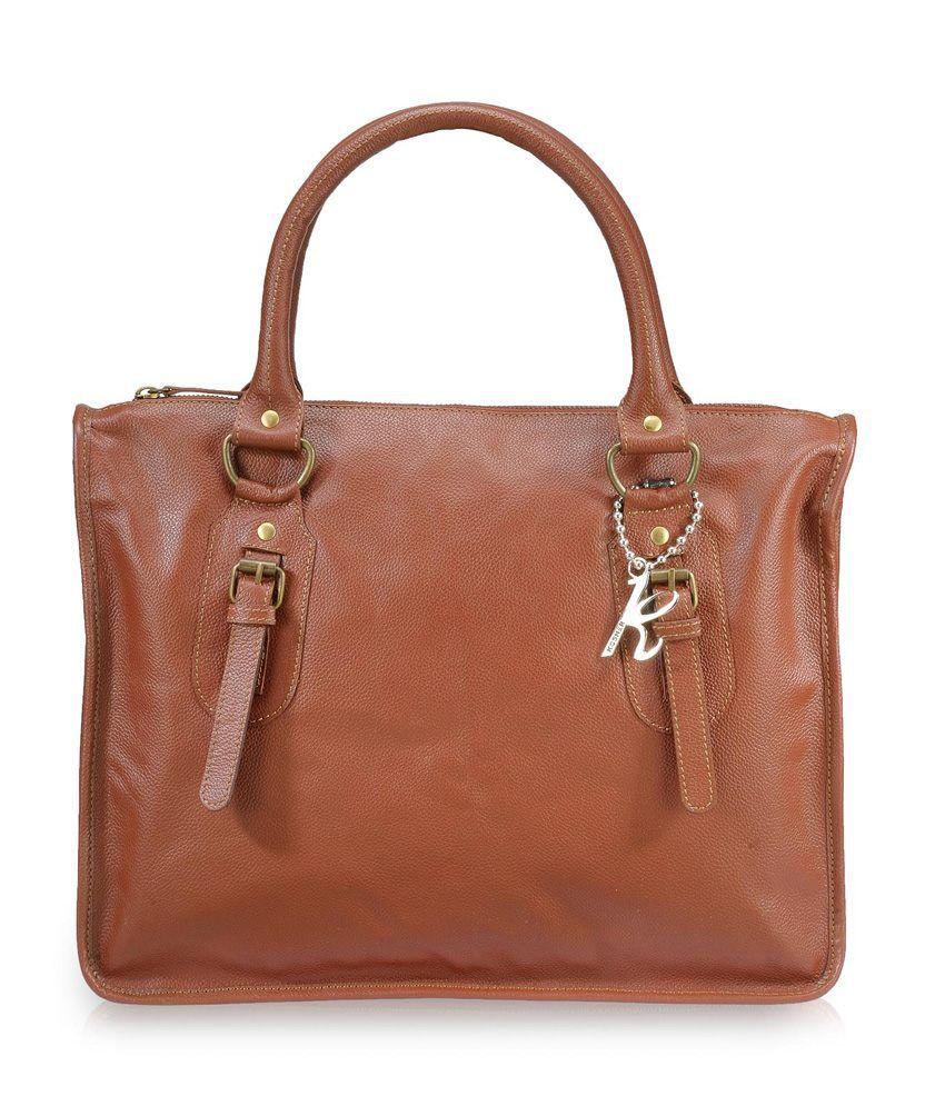 KOSHER KLHB120-BROWN Brown Handbags