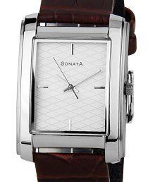 Sonata Classic ND7953SL01 Men's Watch