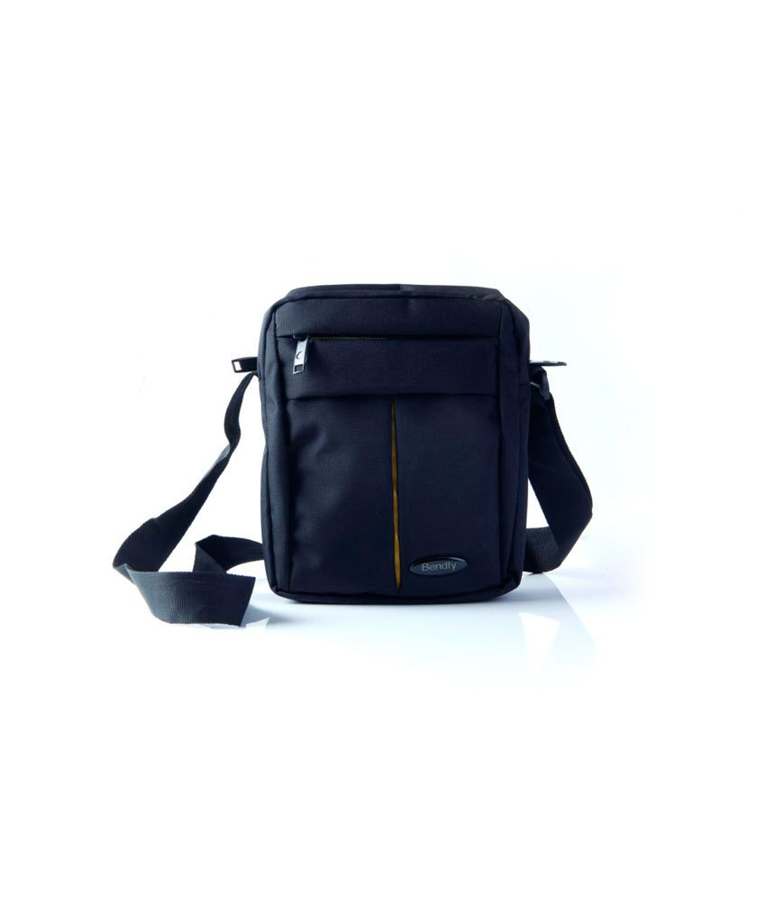 Passport Sling Bag - Black