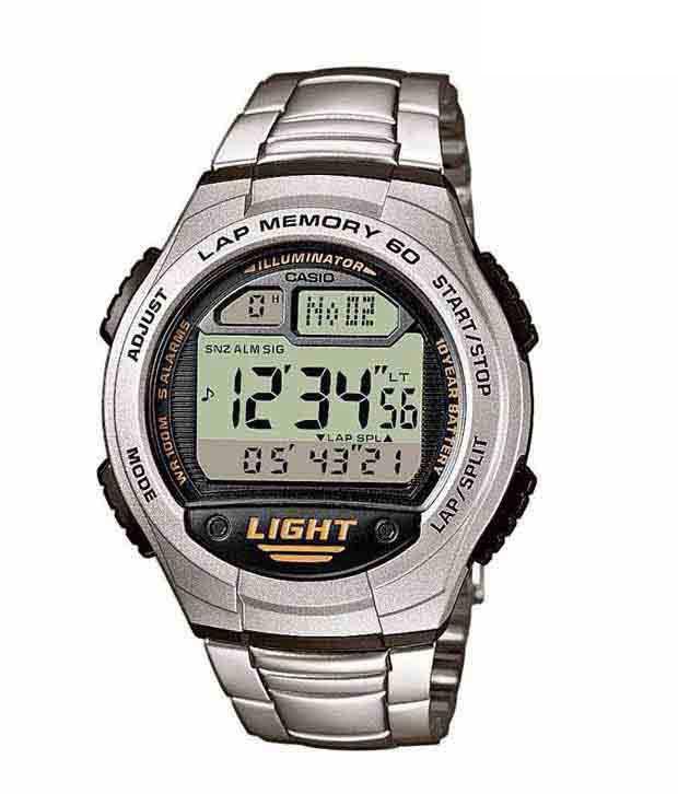 78ecda1f903 Casio D091 Silver Case Digital Watch Casio D091 Silver Case Digital Watch  ...