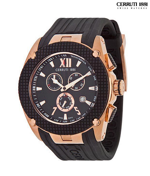 3f0d295b1a Cerruti Black & Rose gold Watch - Buy Cerruti Black & Rose gold Watch  Online at Best Prices in India on Snapdeal