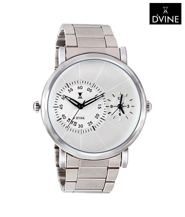 D'Vine Minute Dial Watch