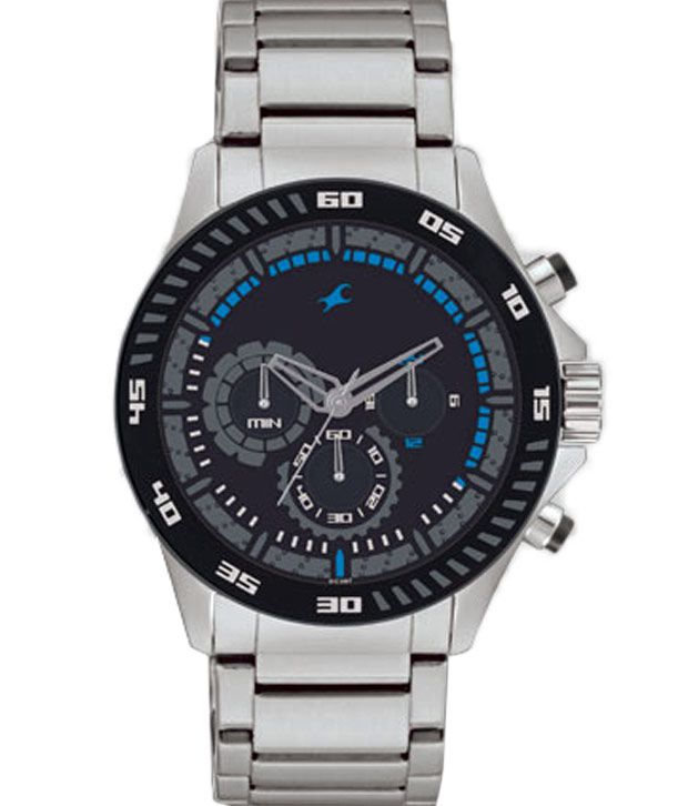 fastrack chronograph nd3072sm03 men s watch buy fastrack fastrack chronograph nd3072sm03 men s watch