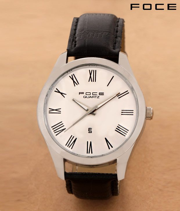 fd105590c9a Foce Big Roman Dial Steel Watch - Buy Foce Big Roman Dial Steel Watch Online  at Best Prices in India on Snapdeal