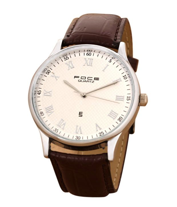 7d702cb3e9d Foce Big Roman Dial Watch - Buy Foce Big Roman Dial Watch Online at Best  Prices in India on Snapdeal