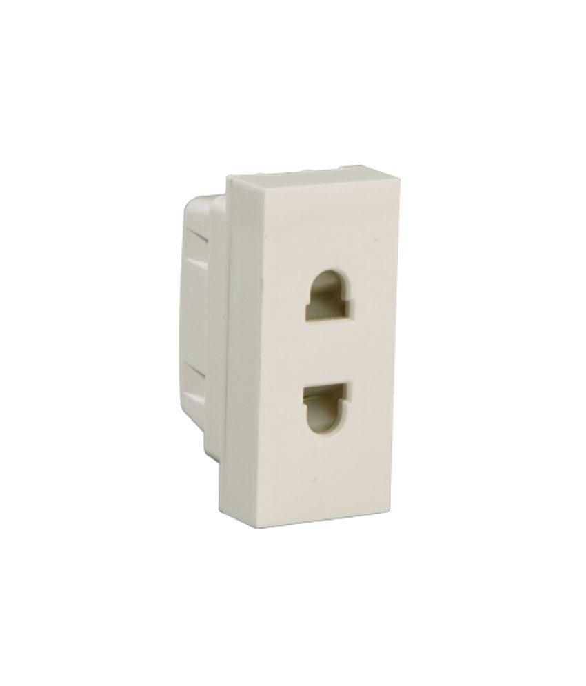 Buy Havells Coral 6a 2pin Socket Online At Low Price In