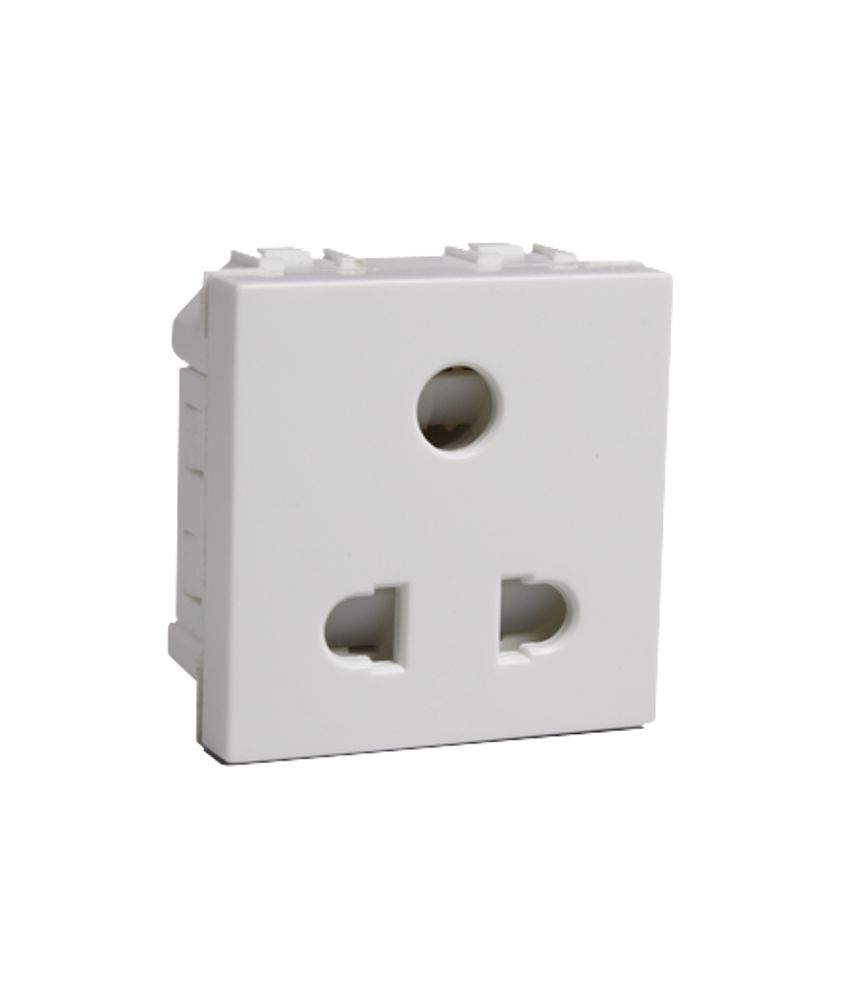 Buy Havells Coral 6a 3pin Socket Online At Low Price In