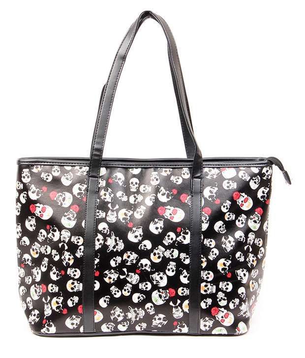 Lovely Chick 111-Black Tote Bags