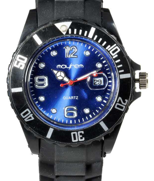 Mayhem Mayhem Marvellous Blue Dial Watch